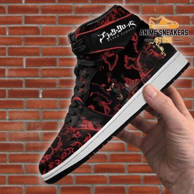 Devil Black Asta Sneakers Clover Anime Jd
