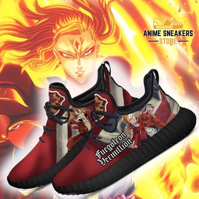 Black Clover Fuegoleon Reze Shoes Crimson Lion Knight Anime Sneakers