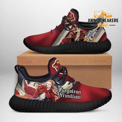 Black Clover Fuegoleon Reze Shoes Crimson Lion Knight Anime Sneakers Men / Us6