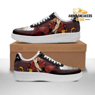 Fuegoleon Vermillion Sneakers Crimson Lion Knight Black Clover Anime Shoes Men / Us6.5 Air Force