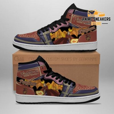 Fuegoleon Vermillion Sneakers Black Clover Anime Shoes Jd