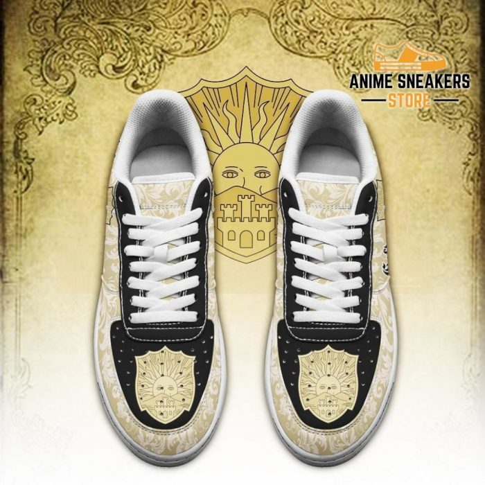 Black Clover Shoes Magic Knights Squad Golden Dawn Sneakers Anime Air Force