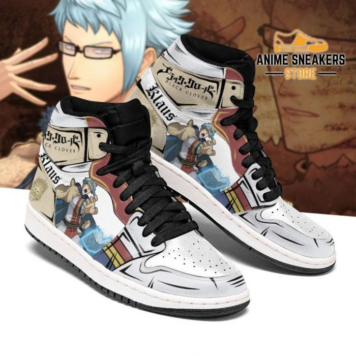 Golden Dawn Klaus Sneakers Black Clover Anime Shoes Men / Us6.5 Jd
