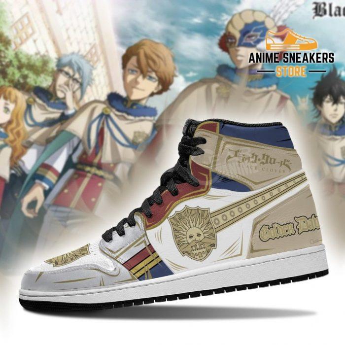 Golden Dawn Magic Knight Sneakers Black Clover Anime Jd