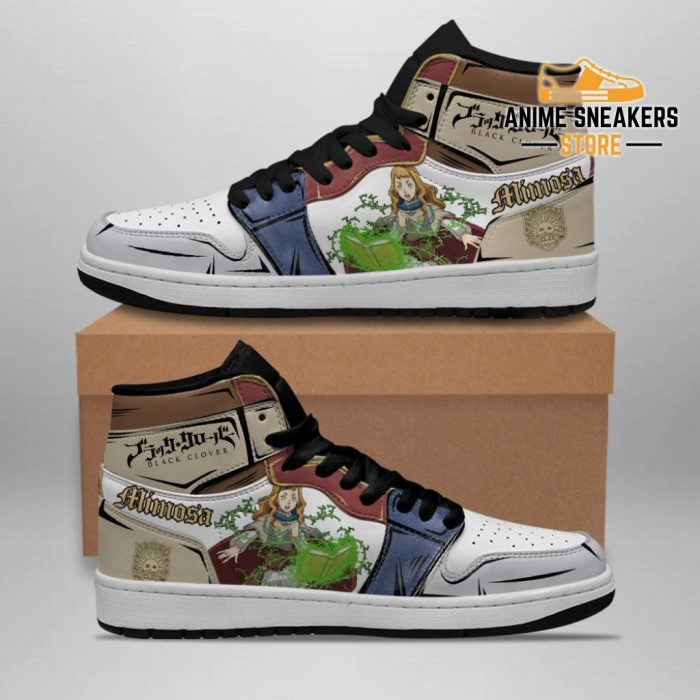 Golden Dawn Mimosa Vermillion Sneakers Black Clover Anime Shoes Jd