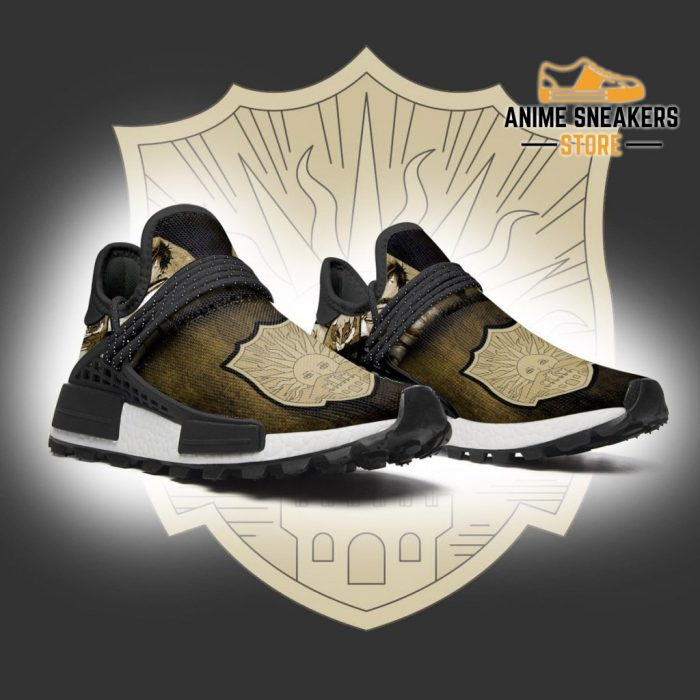Golden Dawn Shoes Magic Knight Black Clover Anime Sneakers Nmd