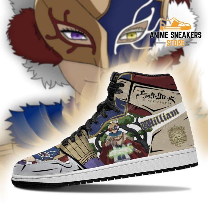 Golden Dawn William Vangeance Sneakers Black Clover Anime Shoes Jd