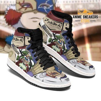 Golden Dawn William Vangeance Sneakers Black Clover Anime Shoes Men / Us6.5 Jd