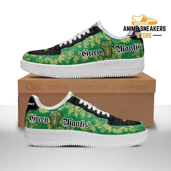 Black Clover Shoes Magic Knights Squad Green Mantis Sneakers Anime Men / Us6.5 Air Force
