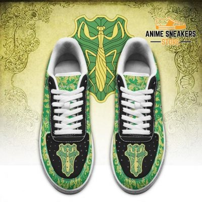 Black Clover Shoes Magic Knights Squad Green Mantis Sneakers Anime Air Force