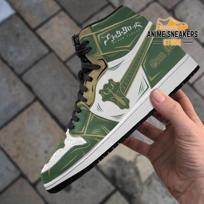 Green Mantis Magic Knight Sneakers Black Clover Anime Jd