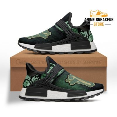 Green Mantis Shoes Magic Knight Black Clover Anime Sneakers Nmd