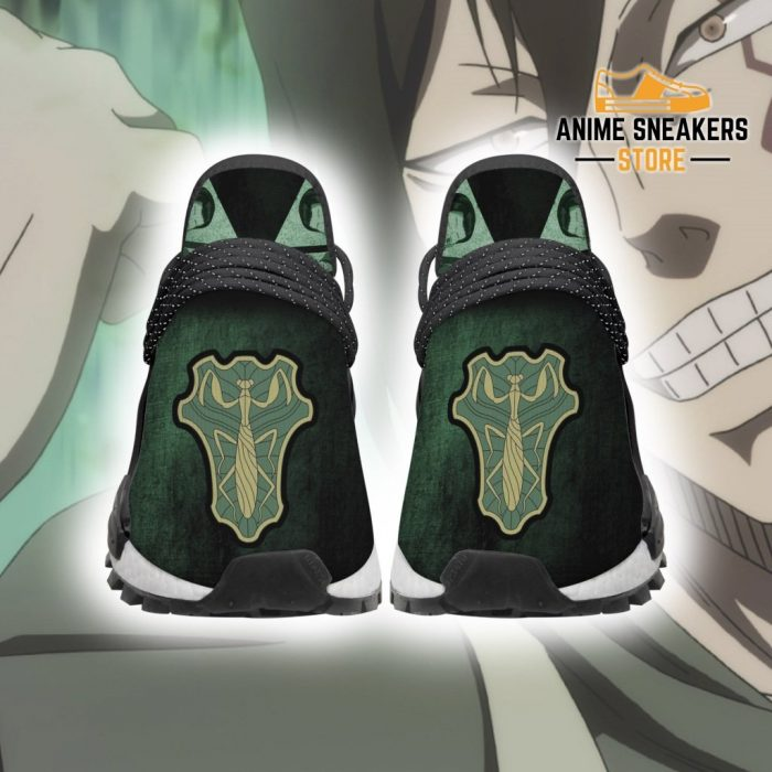 Green Mantis Shoes Magic Knight Black Clover Anime Sneakers Men / Us6 Nmd