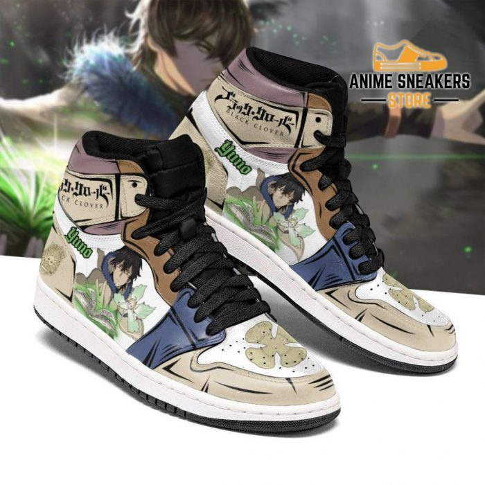 Grimore Yuno Sneakers Black Clover Anime Shoes Men / Us6.5 Jd