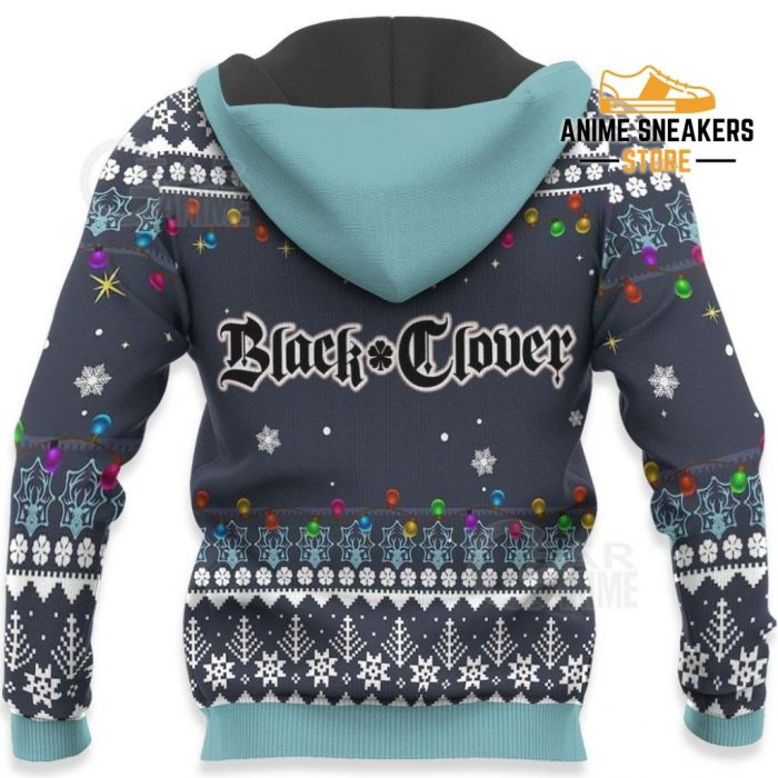 Julius Novachrono Ugly Christmas Sweater Black Clover Anime Gift Va11 All Over Printed Shirts