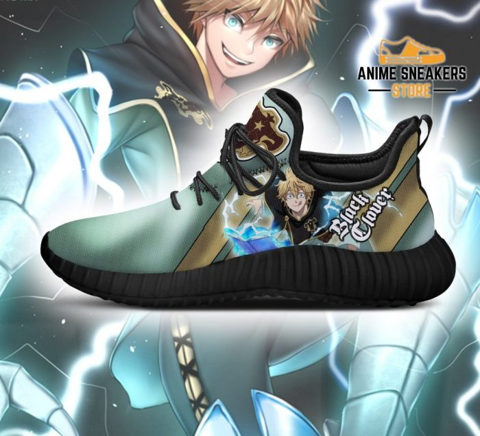 Black Clover Luck Voltia Reze Shoes Bull Knight Anime Sneakers