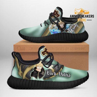Black Clover Luck Voltia Reze Shoes Bull Knight Anime Sneakers Men / Us6