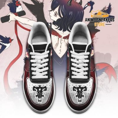 Nero Sneakers Black Bull Knight Clover Anime Shoes Air Force