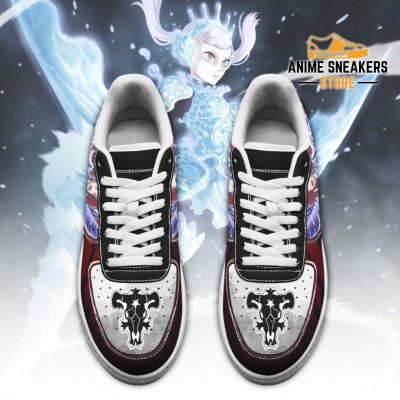 Noelle Silva Sneakers Black Bull Knight Clover Anime Shoes Air Force