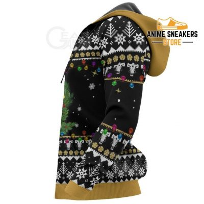 Noelle Silva Ugly Christmas Sweater Black Clover Anime Xmas Gift Va11 All Over Printed Shirts