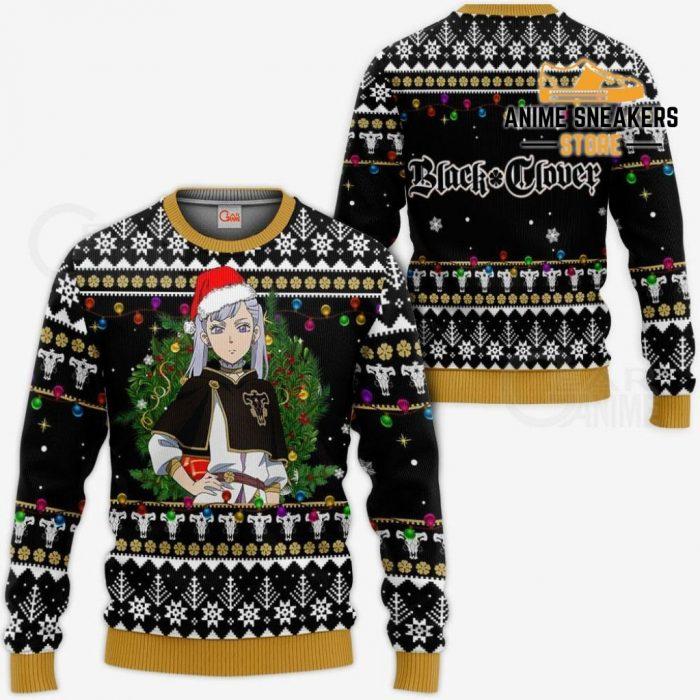 Noelle Silva Ugly Christmas Sweater Black Clover Anime Xmas Gift Va11 / S All Over Printed Shirts
