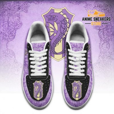 Black Clover Shoes Magic Knights Squad Purple Orca Sneakers Anime Air Force