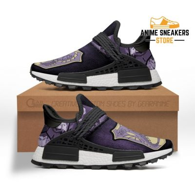 Purple Orca Shoes Magic Knight Black Clover Anime Sneakers Nmd