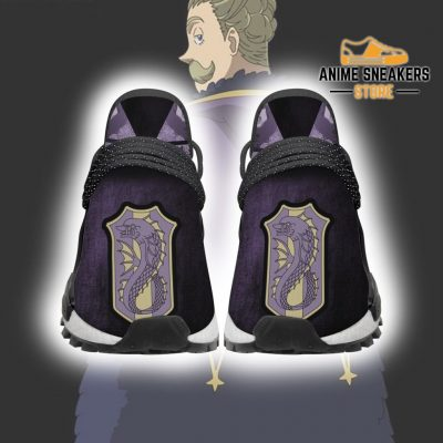 Purple Orca Shoes Magic Knight Black Clover Anime Sneakers Men / Us6 Nmd