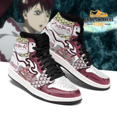 Black Clover Shoes Kahono Sneakers Anime Men / Us6.5 Jd