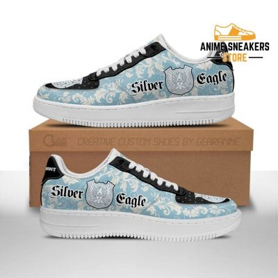 Black Clover Shoes Magic Knights Squad Silver Eagle Sneakers Anime Men / Us6.5 Air Force