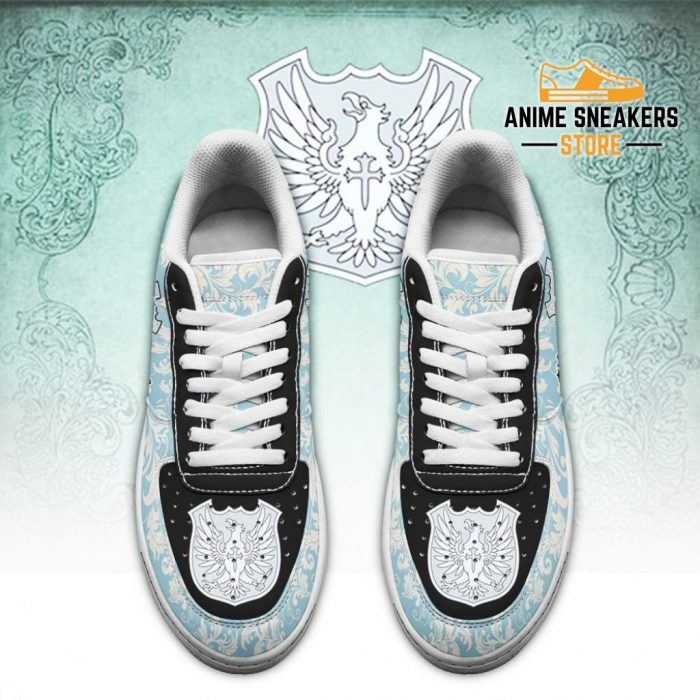 Black Clover Shoes Magic Knights Squad Silver Eagle Sneakers Anime Air Force