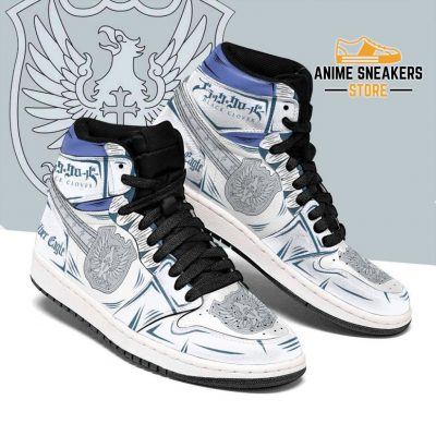 Silver Eagle Magic Knight Sneakers Black Clover Anime Men / Us6.5 Jd