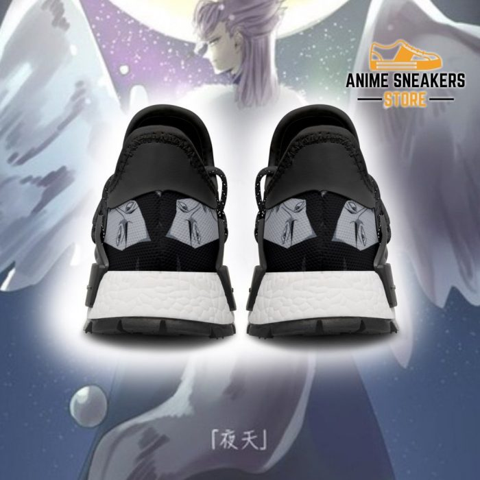 Silver Eagle Shoes Magic Knight Black Clover Anime Sneakers Nmd