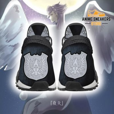 Silver Eagle Shoes Magic Knight Black Clover Anime Sneakers Men / Us6 Nmd