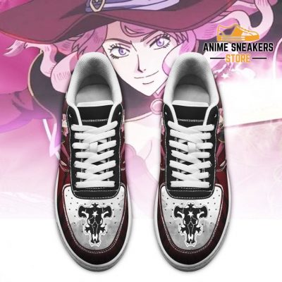 Vanessa Enoteca Sneakers Black Bull Knight Clover Anime Shoes Air Force