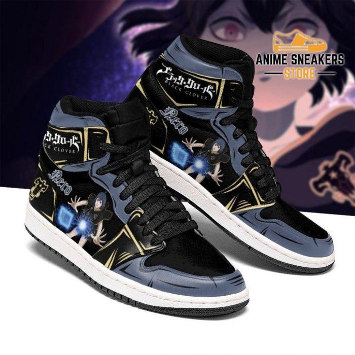 Black Bull Nero Secre Swallowtail Sneakers Clover Anime Shoes Men / Us6.5 Jd