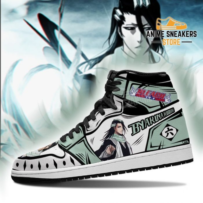 Bleach Byakuya Anime Sneakers Fan Gift Idea Mn05 Jd
