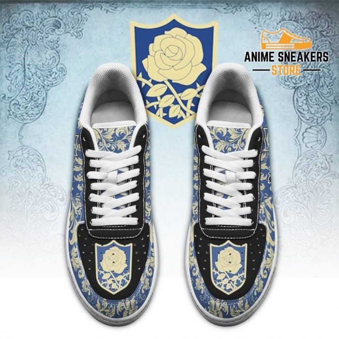 Black Clover Shoes Magic Knights Squad Blue Rose Sneakers Anime Air Force