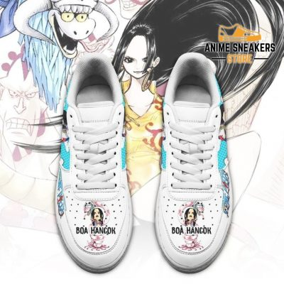 Boa Hancok Sneakers Custom One Piece Anime Shoes Fan Pt04 Air Force