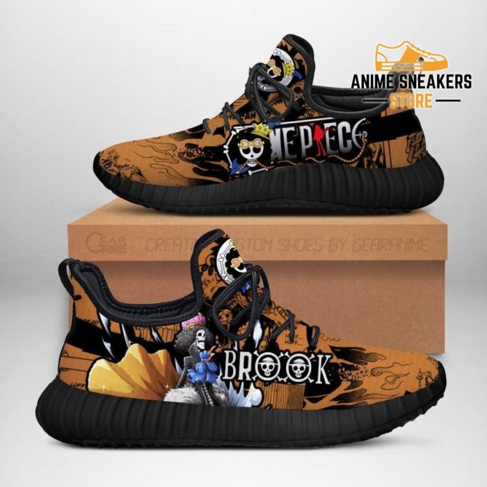 Brook Reze Shoes One Piece Anime Fan Gift Idea Tt04 Men / Us6