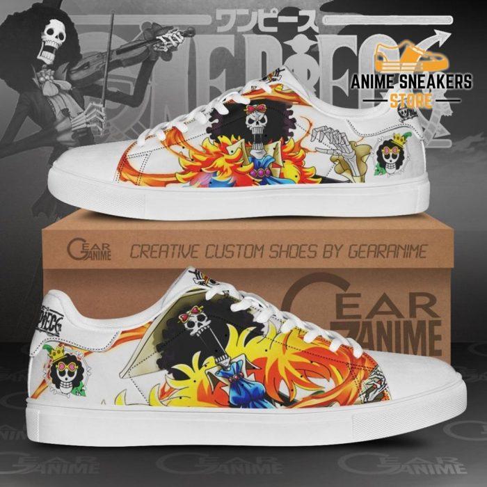 Brook Skate Shoes One Piece Custom Anime Men / Us6