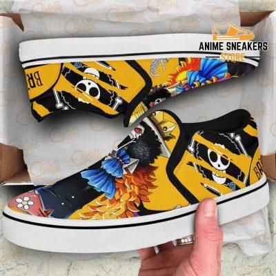 Brook Slip On Shoes One Piece Custom Anime Slip-On