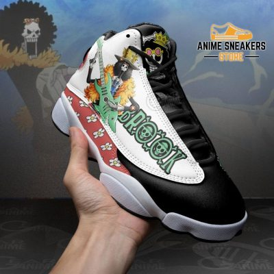 Brook Sneakers One Piece Anime Shoes Jd13