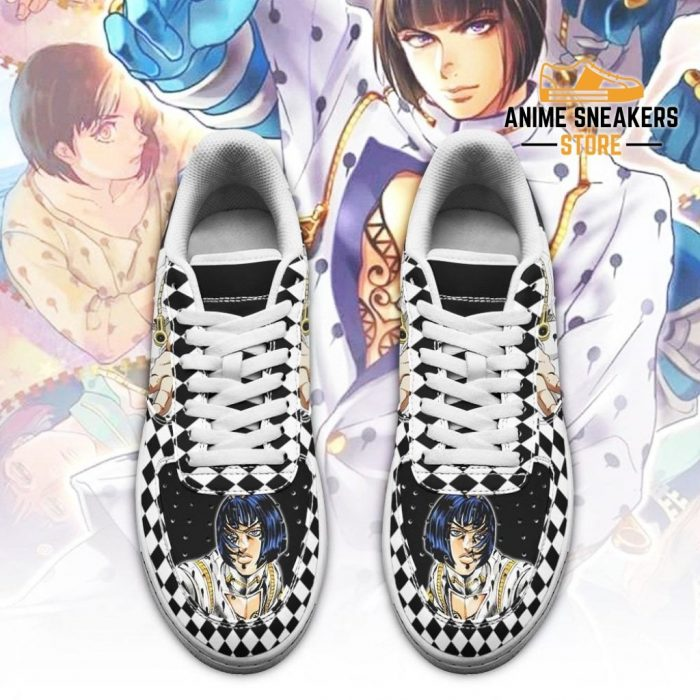 Bruno Bucciarati Sneakers Jojo Anime Shoes Fan Gift Idea Pt06 Air Force