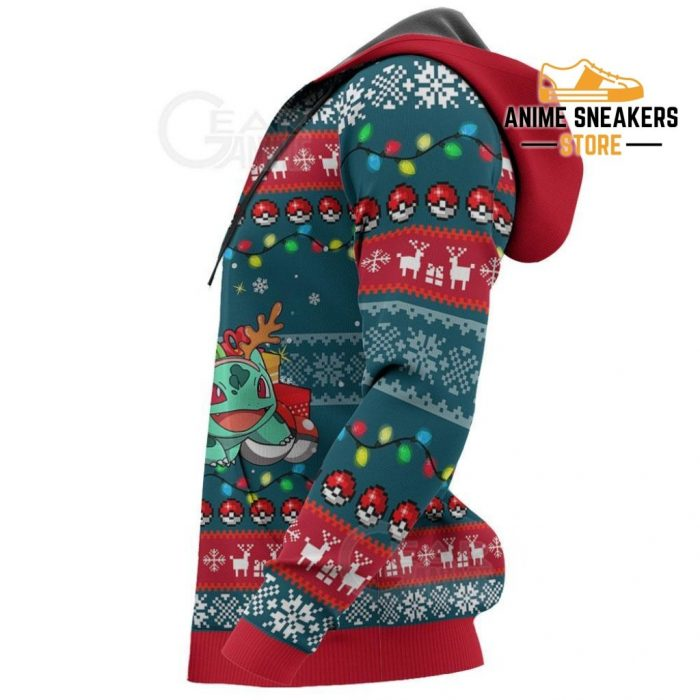 Bulbasaur And Squirtle Ugly Christmas Sweater Pokemon Xmas Gift Va11 All Over Printed Shirts