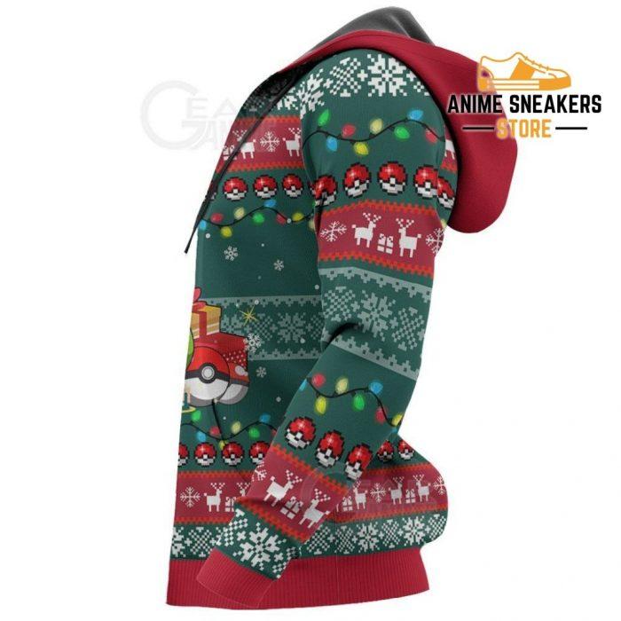Bulbasaur Ugly Christmas Sweater Pokemon Anime Xmas Gift Va11 All Over Printed Shirts