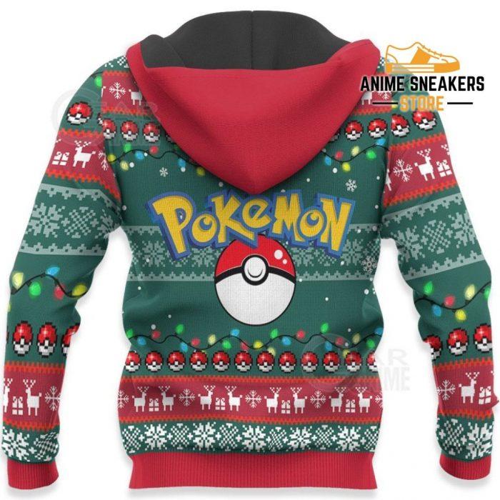 Bulbasaur Ugly Christmas Sweater Pokemon Anime Xmas Gift Va11 Hoodie / S All Over Printed Shirts