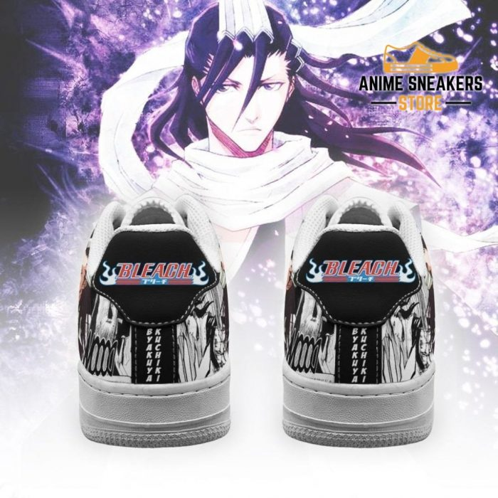 Byakuya Sneakers Bleach Anime Shoes Fan Gift Idea Pt05 Air Force