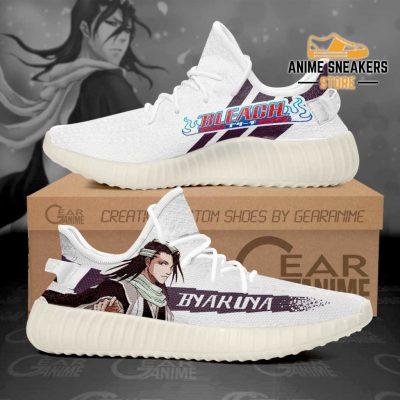 Byakuya Kuchiki Shoes Bleach Custom Anime Sneakers Men / Us6 Yeezy