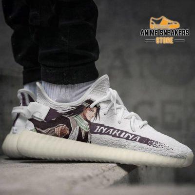 Byakuya Kuchiki Shoes Bleach Custom Anime Sneakers Yeezy